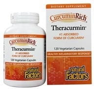 Natural Factors - CurcuminRich Theracurmin 30 mg. - 120 Vegetarian Capsules