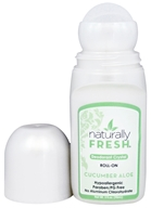 Naturally Fresh - Deodorant Crystal Roll-On Cucumber Aloe - 3 oz.