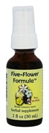 Flower Essence Services - Five-Flower Formula Non-Alcohol Spray - 1 oz.