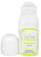 Naturally Fresh - Deodorant Crystal Roll-On Green Tea - 3 oz.