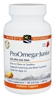 Nordic Naturals Professional - ProOmega Junior 325 EPA/225 DHA Strawberry Flavor 500 mg. - 90 Softgels