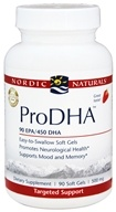 Nordic Naturals Professional - ProDHA 90 EPA/450 DHA Strawberry Flavor 500 mg. - 90 Softgels