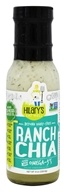 Hilary's Eat Well - Gluten-Free Salad Dressing Ranch Chia - 8 oz.