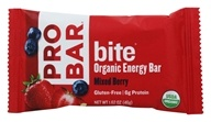 Pro Bar - Bite Organic Energy Bar Mixed Berry Mixed Berry - 1.62 oz.