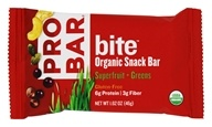 Pro Bar - Bite Organic Energy Bar Superfruit and Greens - 1.62 oz.
