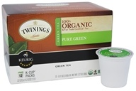 Twinings of London - 100% Organic Pure Green Tea - 12 K-Cup(s)