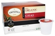 Twinings of London - 100% Organic Chai Black Tea - 12 K-Cup(s)