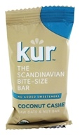Kur - Organic Scandinavian Raw Date and Nut Bar Coconut Cashew - 0.88 oz.