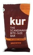 Kur - Organic Scandinavian Raw Date and Nut Bar Brownie - 0.88 oz. LUCKY PRICE