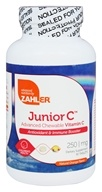 Zahler - Junior C Natural Orange Flavor 250 mg. - 90 Chewable Tablets