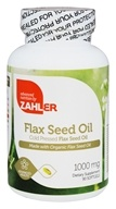 Zahler - Flax Seed Oil 1000 mg. - 90 Softgels
