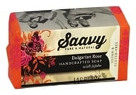 Saavy Naturals - Handcrafted Soap with Jojoba Bulgarian Rose - 5 oz. LUCKY PRICE