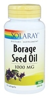 Solaray - Borage Seed Oil 1000 mg. - 50 Softgels