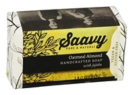 Saavy Naturals - Handcrafted Soap with Jojoba Oatmeal Almond - 5 oz. LUCKY PRICE