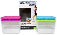Fit & Fresh - Healthy Living 2 Cup Smart Portion Containers - 10 Piece(s)