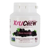 XyliChew - Sugar Free Soft Chewing Gum Black Licorice - 60 Piece(s)