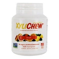 XyliChew - Sugar Free Soft Chewing Gum Fruit - 60 Piece(s)