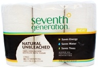 Seventh Generation - Bathroom Tissues 100% Recycled 2 ply-400 Sheets - 12 Roll(s)