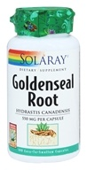 Solaray - Goldenseal Root 550 mg. - 100 Capsules