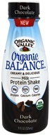 Organic Valley - Organic Balance Protein Shake Dark Chocolate - 11 oz.