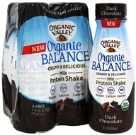 Organic Valley - Organic Balance Protein Shake Dark Chocolate - 4 Pack