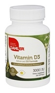 Zahler - Vitamine D3 3000 unité internationale - 250 Softgels