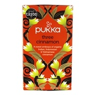 Pukka Herbs - Organic Herbal Tea Three Cinnamon - 20 Tea Bags