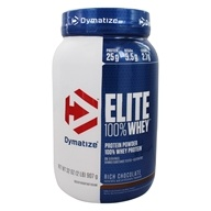 Dymatize Nutrition - Elite 100% Whey Protein Rich Chocolate - 2 lbs.