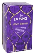 Pukka Herbs - Organic Herbal Tea After Dinner - 20 Tea Bags