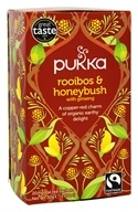 Pukka Herbs - Organic Herbal Tea Rooibos & Honeybush with Ginseng - 20 Tea Bags ...