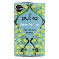 Pukka Herbs - Organic Herbal Tea Three Fennel - 20 Tea Bags