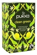 Pukka Herbs - Organic Herbal Tea Clean Green - 20 Tea Bags ...