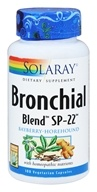Solaray - Bronchial Blend SP-22 - 100 Vegetarian Capsules