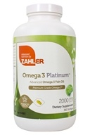 Zahler - Omega 3 Platinum 3000 mg. - 360 Softgels