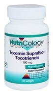 Nutricology - Tocomin SupraBio Tocotrienols 100 mg. - 60 Softgels