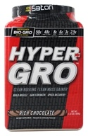 iSatori - Hyper-Gro Clean Bulking/Lean Mass Gainer Rich Chocolate - 2.33 lbs.