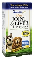 NutraLife Pet - Ultra Joint & Liver Support for Large Dogs 400 mg. - 30 Tablets
