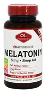 Olympian Labs - Melatonin Fast Dissolve 5 mg. - 60 Tablets