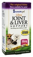 NutraLife Pet - Ultra Joint & Liver Support for All Cats & Small Dogs 50 mg. - 30 Tablets
