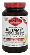 Olympian Labs - Ultimate Omega-3 Fish Oils - 60 Enteric Coated Softgels