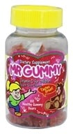 Mr. Gummy Vitamins - Vitamin D for Children Peach-Sour Cherry Flavor - 60 Gummies