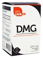 Zahler - DMG 125 mg. - 90 Chewable Tablets
