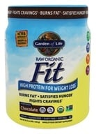 Garden of Life - RAW Organic High Protein for Weight Loss Real Raw Chocolate Cacao - 1 lb.