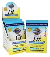 Garden of Life - Raw Fit High Protein for Weight Loss Real Raw Vanilla - 10 Packet(s)