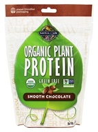 Garden of Life - Organic Plant Protein Grain Free Smooth Chocolate - 10 oz.