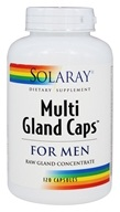 Solaray - Multi Gland Caps For Men - 120 Capsules