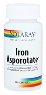 Iron Asporotate - 100 Capsules by Solaray