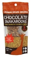 Laughing Giraffe Organics - Organic Coconut Snakaroons Chocolate - 1.25 oz.