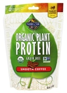 Garden of Life - Organic Plant Protein Grain Free Smooth Coffee - 9 oz.