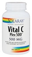 Solaray - Vital C Plex 500 mg. - 100 Tablets
